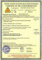 Сертификат республики Молдова на платы CTI «Ольха-9P»